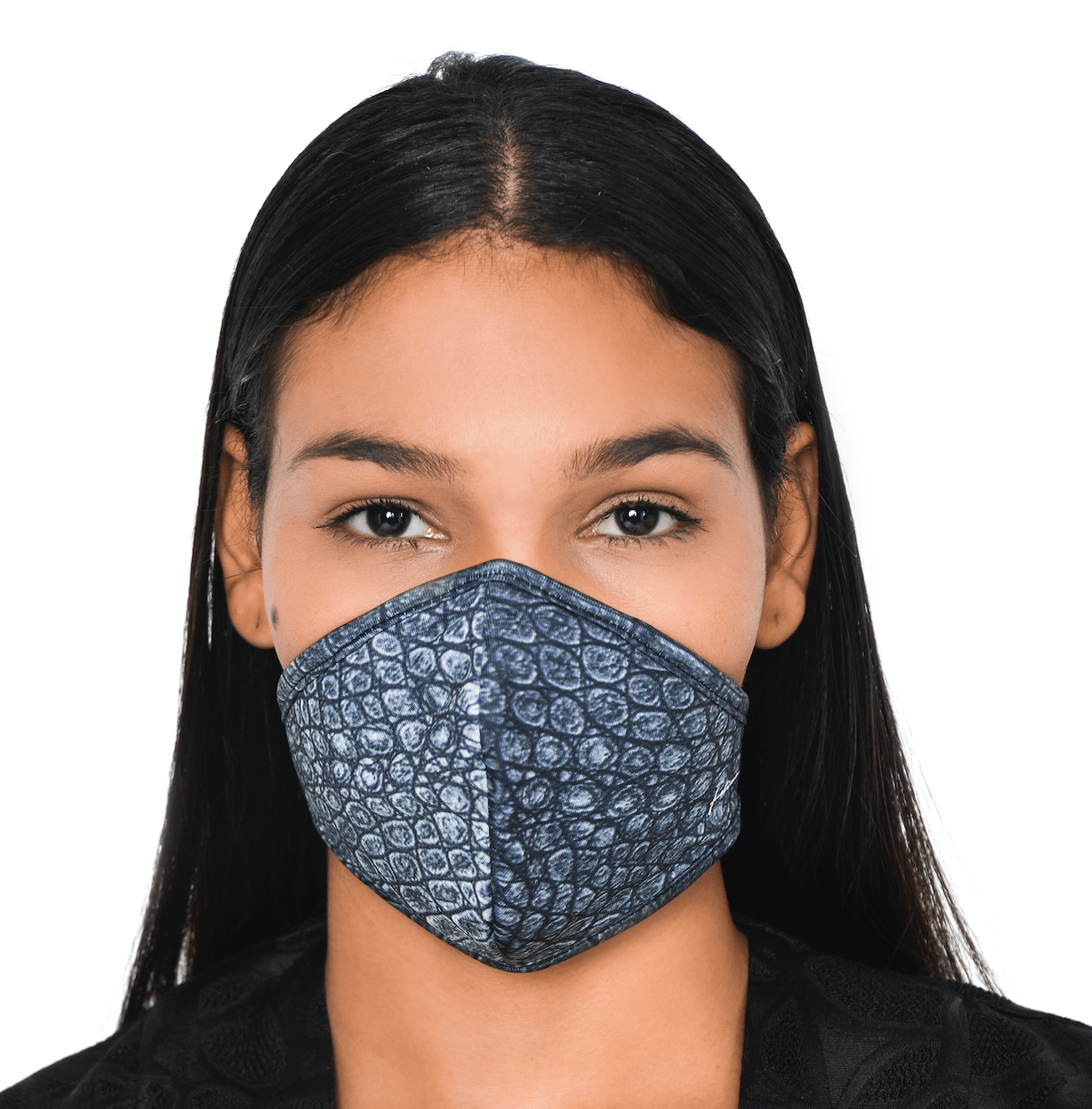 Mask CROCO GREY 2
