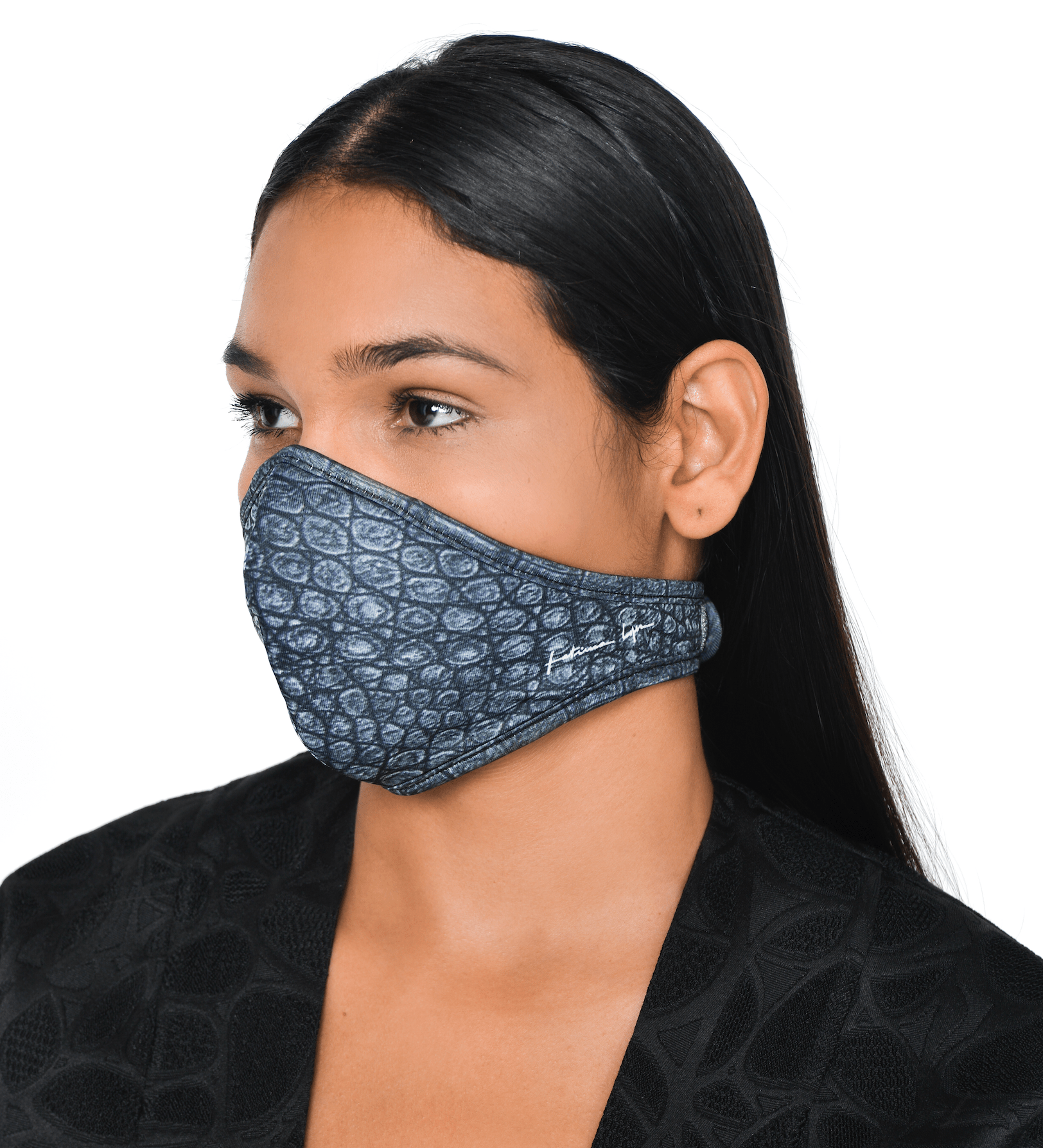 Mask CROCO GREY 3