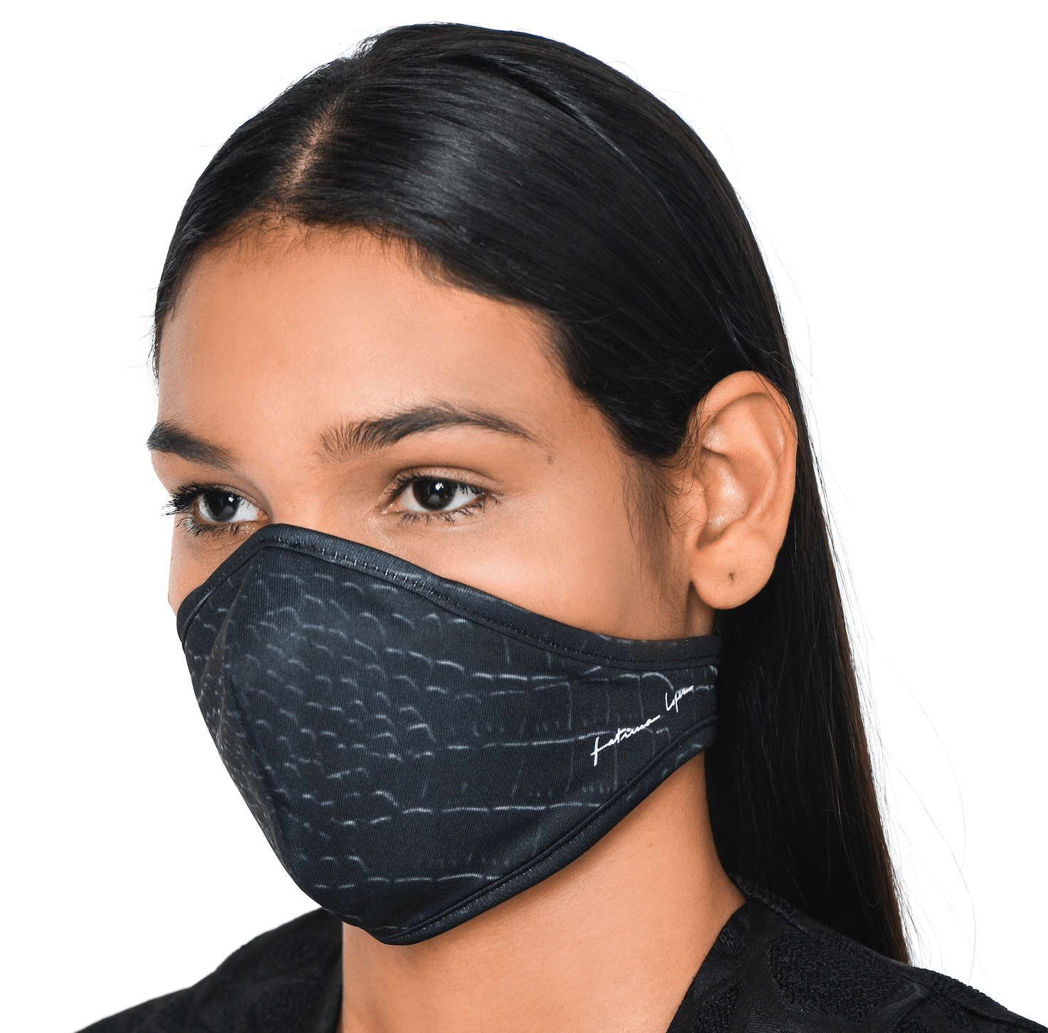 Mask CROCO BLK 0