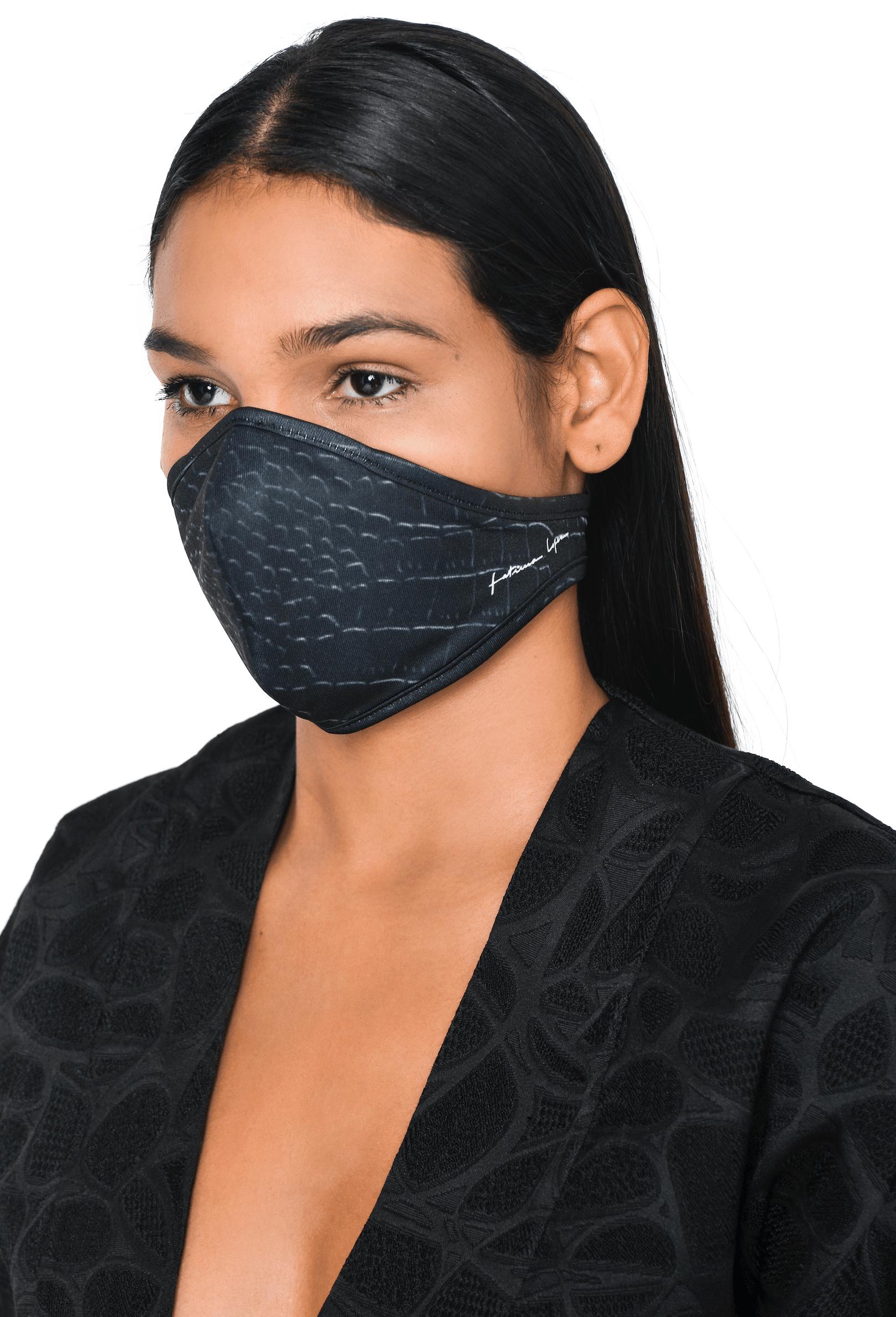 Mask CROCO BLK 1