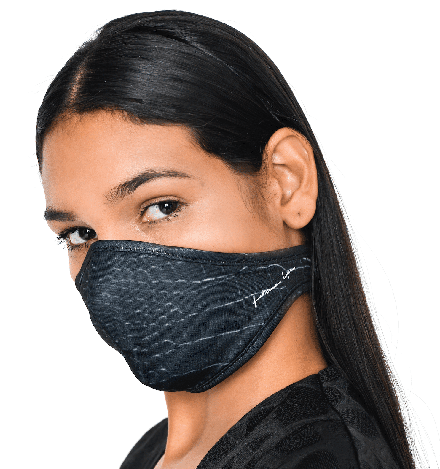 Mask CROCO BLK 3